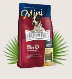 Happy Dog Supreme-Mini Africa (Struisvogel) 300gr