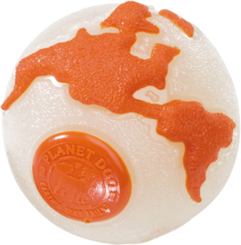 Orbee Planet Ball White/Orange (glow in the dark!)