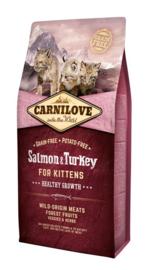 Carnilove Salmon & Turkey Kittens 6KG