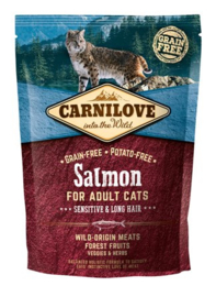 Carnilove Salmon Sensitive & Long Hair 400gr