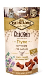 Carnilove Snack Kat Soft Chicken with Thyme 50gr