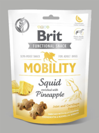 Brit Mobility Snack Semi Moist Squid (Pijlinktvis) 150gr