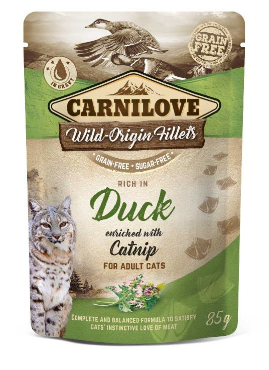 Carnilove Cat Pouch Duck 85gr