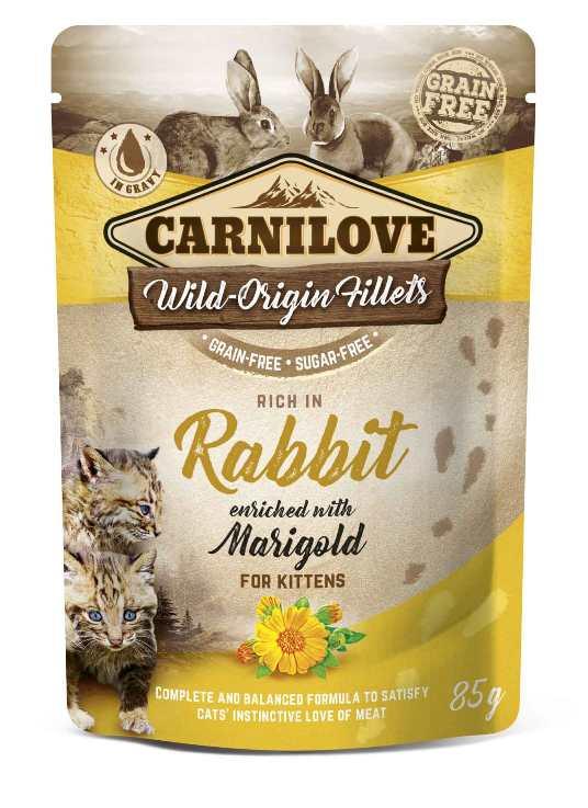 Carnilove Cat Pouch Rabbit 75gr