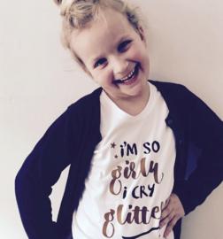 T-shirt kinderen i'm a girl