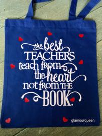 Tas the best teachers teach from the heart