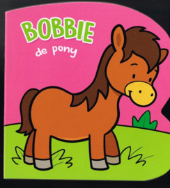 De pony Bobbie baby of peuterkartonboekje