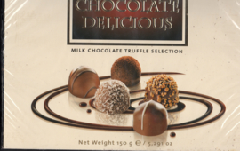 milk chocolade truffle selection 150 g