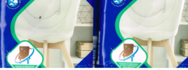 vochtige reinigingsdoekjes voor  meubels uit kunststof/ pak van 24 st x 2/ voor onderhoud en glans/