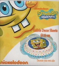 Sponge Bob decorate your own cake