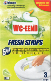 Toilet strips 15  WC Eend