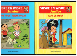 Suske en Wiske Junior/ Wat hoort Wiske daar?/ Vaar je mee? Ik lees op niveau start/ AVI/ E3/ AVI 2