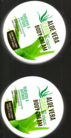 Aloe vera care body cream 2x 200 ml