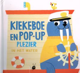 Kiekeboe en Pop-up peuterboek plezier in het water