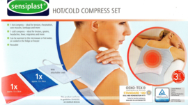 Hot/ cold compress set 2x