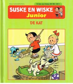 suske en wiske junior De kat leesniveau AVI M3/ AVI 1