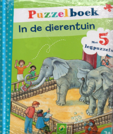 Puzzelboek In de dierentuin
