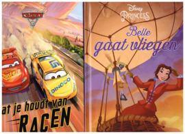 leesboeken set Belle gaat vliegen..../ Omdat je houdt van racen leesplezier voor uw kind