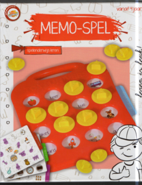 memo- spel in box
