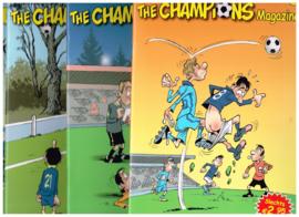 set van 4 stripboeken The Champions magazine 8, 10, 11, en 14