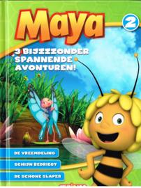 Maya/ 3 bijzzzonder spannende avonturen! De vreemdeling/ Schijn bedriegt/ De schone slaper/ boek nr 2