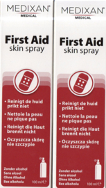 First Aid skin spray 2x 100 ml