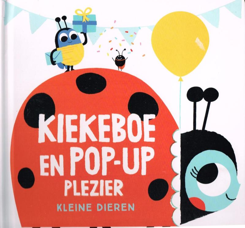 kleine dieren Kiekeboe en Pop-up peuterboek