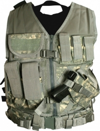 (2919) NcStar Tactical Vest - Digital Camo