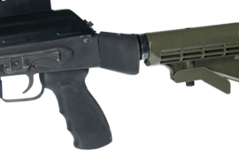 (4217) AK-47 Schaft Adapter für AR 4/15 Schäfte, UTG