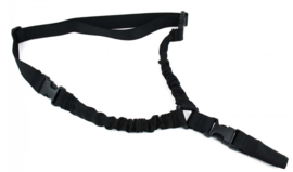 (8043)  One Point Bungee Rifle Sling (black)