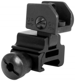 (1605) NcStar AR15 flip-up rear sight / Klappkimme