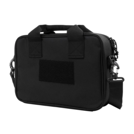 (3014) Double Pistol Range Bag - Black NcSTAR