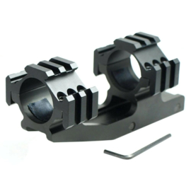 (1123) 30mm OnePiece Tactial Tri-Rail Mount