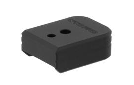 (4244) UTG PRO® +0 Base Pad, S&W M&P 9/40, Matte Black Aluminum Magazijn Basepad