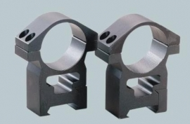 (1178) 1 inch High profile ring mounts (2pcs)