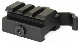 (1280) Compact Quick Release Riser Rail Mount