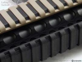 (2107) Ladder rail cover Carbine length Black