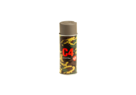 (4010) C4 Camouflage spray paint RAL 7050 extra mat