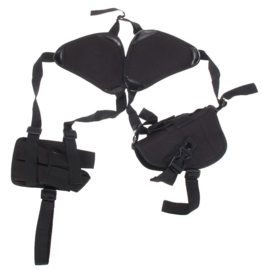 (9010) Universal Shoulder Holster and Double Magazine Pouch