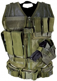 (2917) NcStar Tactical vest- Green