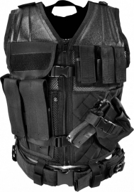 (2916) NcStar Tactical Vest - Black