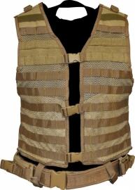 (2913) NcStar Modular vest tan