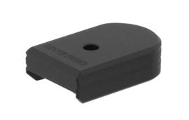 (4246) UTG PRO® +0 Base Pad, CZ P07/P10C, Matte Black Aluminum Magazijn Basepad