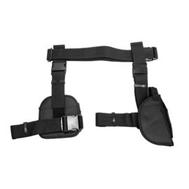 (4226) universelles taktisches Beinholster mit dreifache Pistolenmagazintasche und Einsatzgürtel