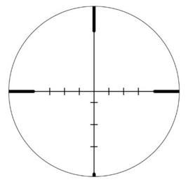 (9253) Vortex Crossfire II 6-24x50 AO Richtkijker, Dead-Hold BDC Dradenkruis (MOA)