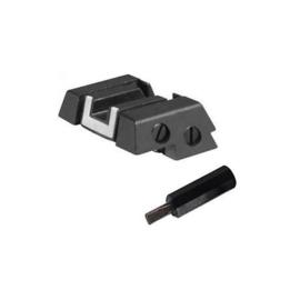 (1359) Glock verstelbaar vizier polymeer 7419