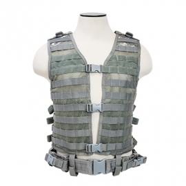 (2914) NcStar Modular vest digital camo