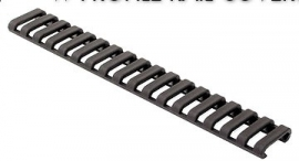 (2106) Ladder rail cover rifle length Black