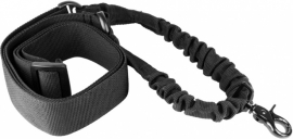 (8042) One Point Bungee Rifle Sling (Black)
