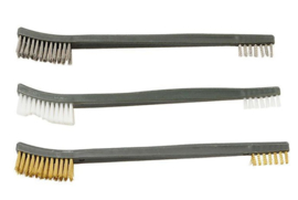 (5240) Set Gun Cleaning Brushes Double Ended